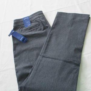 NWT - Apt. 9 gray pants - sz 10P - MSRP $48.00